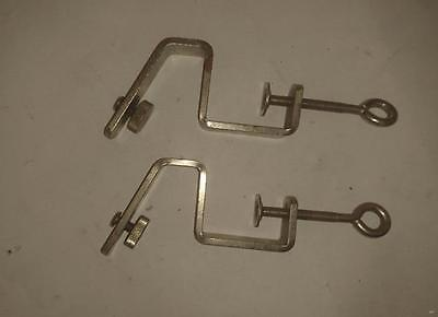 Knitting Machine  clamps x 2 as pictured