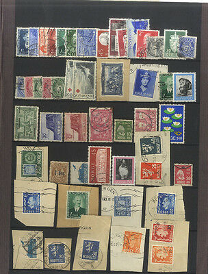 Lot  52 Timbres Norvege Europe