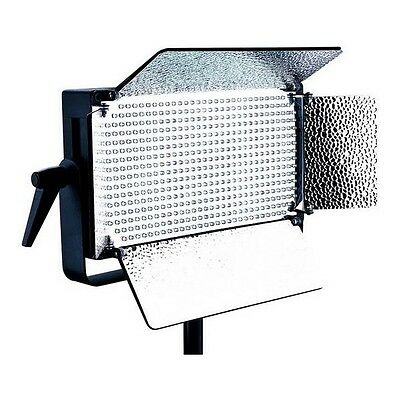 Falcon Eyes Studio LED Lamp Dimmable LP-D500U on 230V with Barndoor