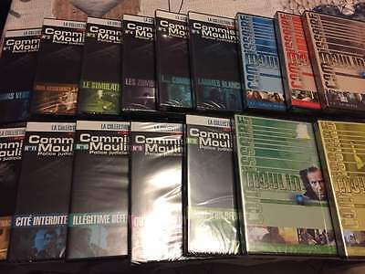 Lot de 16 dvd commissaire moulin. Neuf sous cello.