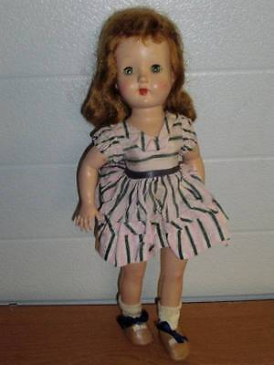 "Effanbee ~ Working Honey Walker 14"" Doll 1950's w/Original Clothing"
