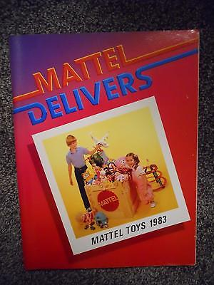 Rare Mattel Delivers 1983 Toy Fair Catalog Hot Wheels, Barbies Masters