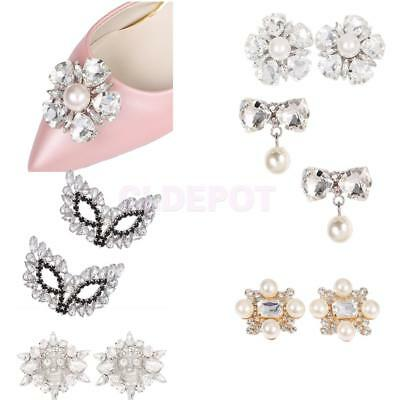 Elegant Women Shoe Clips, Shoe Decorations, Various Stunning Styles