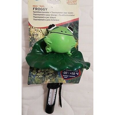 Europet Pond Thermometer - Froggy