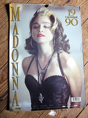 Vintage Madonna 1990 Danilo Calendar * UNUSED * very good condition Rare