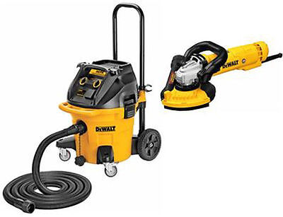 Dewalt DWV012 Vac and DWE46153 Dustless Grinding Kit
