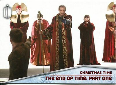 Doctor Who 2015 Christmas Time Chase Card CT-5 The End of Time: Part One
