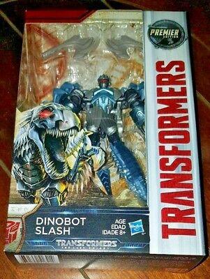 NIP Transformers: The Last Knight - Premier Edition DINOBOT SLASH Action Figure!
