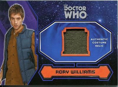 Doctor Who 2015 Costume Card Rory William's Green Shirt