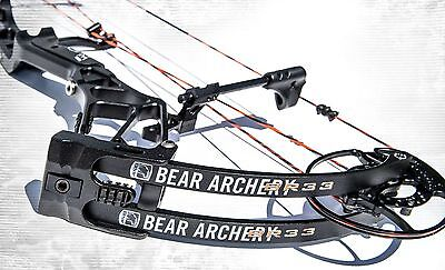 New 2016 Bear Archery BR33 55-70# Right Hand Compound Bow Shadow Series