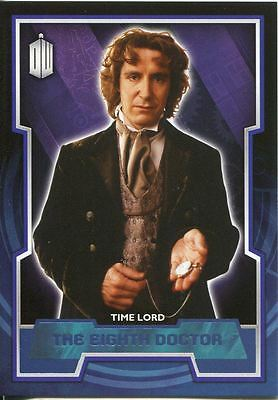 Doctor Who 2015 Blue Parallel [199] Base Card #8 The Eighth Doctor