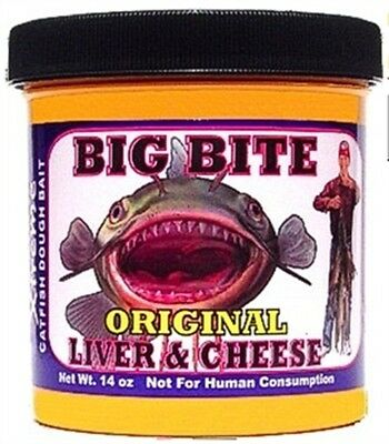 Magic Bait 76-12 Big Bite Catfish Dough Bait 14 oz Cheese Fishing Lure