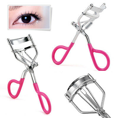 Pink Eyelash Curler Curling Styling Beautician High Quality Clip Tool Makeup