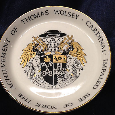 Crown Ducal Impaled See Of York Achievement Of Thomas Wolsey Cardinal Coaster