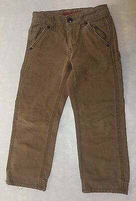 Levi's Boys Size 6 Regular Carpenter Khakis