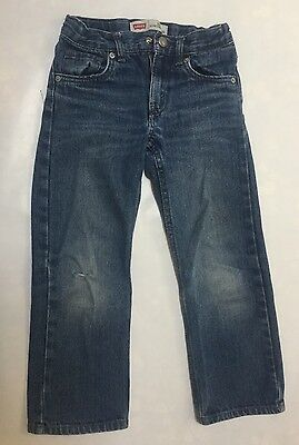 Levi's Boys Size 6 Regular 514 Slim Straight Jeans
