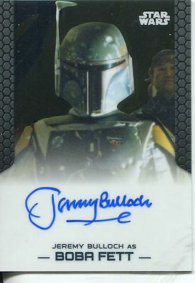 Star Wars Chrome Perspectives Autograph Card Jeremy Bulloch