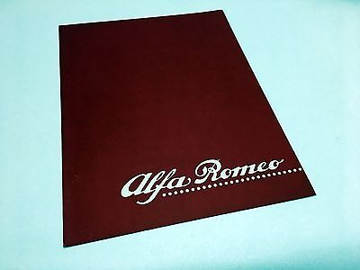 1990 Alfa Romeo Spider Veloce 164 S Preview Brochure