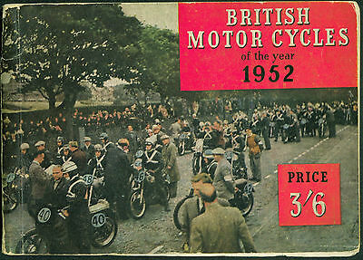 British Motorcycles of 1952 AJS BSA Ariel Norton Catalogue with specifications