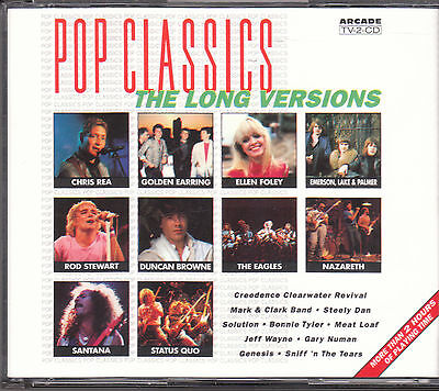 POP CLASSICS - THE LONG VERSIONS inkl. EXTENDEDVERSIONS / 2CD-Box