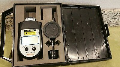 Mitutoyo Non-Contact Tachometer 982-552 Model Oh-200Lc In Case
