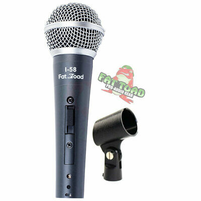 Hand-Held Vocal Microphone - Singing Cardioid Dynamic Recording Studio Mic