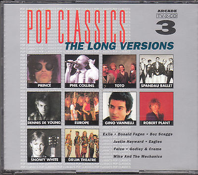 POP CLASSICS - THE LONG VERSIONS VOLUME 3 inkl. EXTENDEDVERSIONS / 2CD-Box