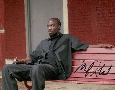 Michael K. Williams autographed 8x10 photo COA