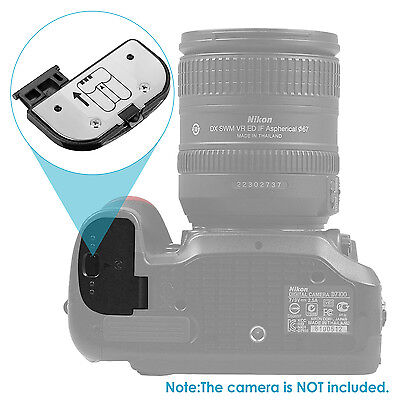 Neewer Compact Replacement Battery Door Cover for Nikon D7100 DSLR Camera