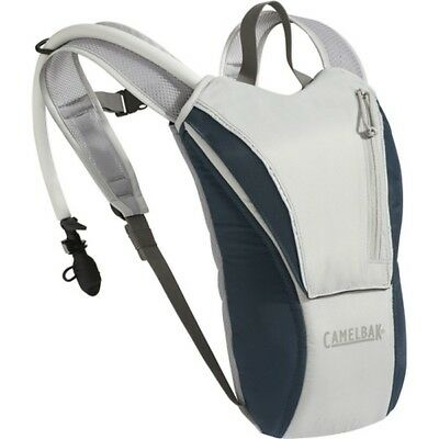 CamelBak 62611 WaterMaster Hydration Backpack Antidote Gray/Abyss Blue 70oz/2L