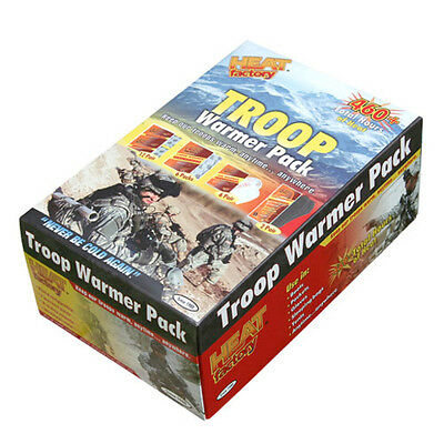 Heat Factory 1204 Troop Warmer Pack 6 Day Supply Air Activated Warmers
