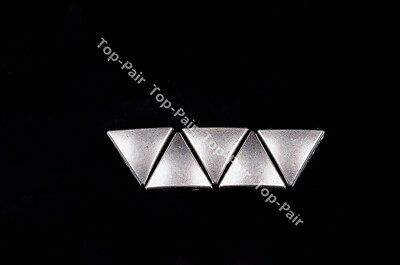 11X13 MM 50pcs PUNK Antique Silver Triangle Studs Rivets & Tack For DIY Craft