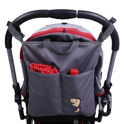 Baby Stroller Organizer Accessory Big Capacity Waterproof Carriage Bag For Prams
