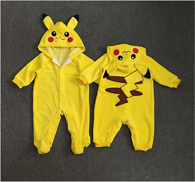 Cotton Newborn Toddler Baby Boys Girls Bodysuit Romper Jumpsuit Clothes Outfits