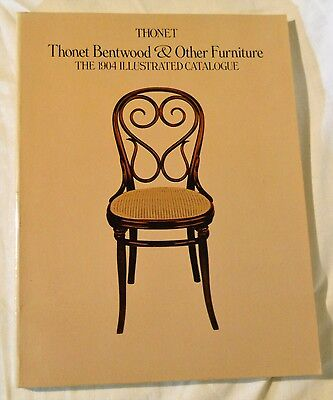 Thonet Bentwood & Other Furniture 1904 Illustrated Catalog Reprint