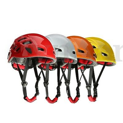 Safety Mountaineer Rock Climbing Caving Kayaking Rescue Helmet Hat with Air Vent