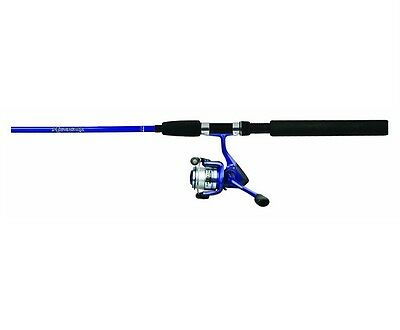 Okuma Tackle FN-100-65BB Fin Chaser Fishing 2 Piece Reel/Rod Combo 10' Blue MH