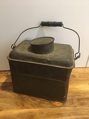 Antique Metal Lunch Box