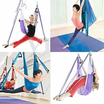 Inversion Therapy Anti-Gravity Aerial Pilates Yoga Swing Gym Hanging Hammock