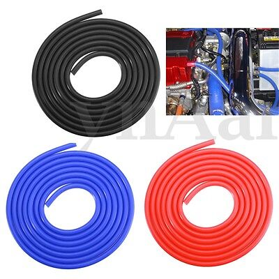 Car Engine 4mm Silicone Vacuum Tube Hose Pipe Silicon Tubing 3 Meters Kit Turbo