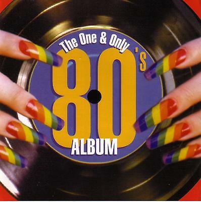 (80's) THE ONE AND ONLY 80'S ALBUM / VARIOUS ARTISTS  -  2 CD SET