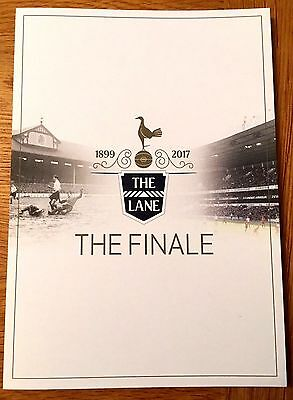 Tottenham Hotspur White Hart Lane The Finale Closing Ceremony Programme