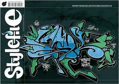 Stylefile Issue 49 - Inkfile - Graffiti Art Magazine