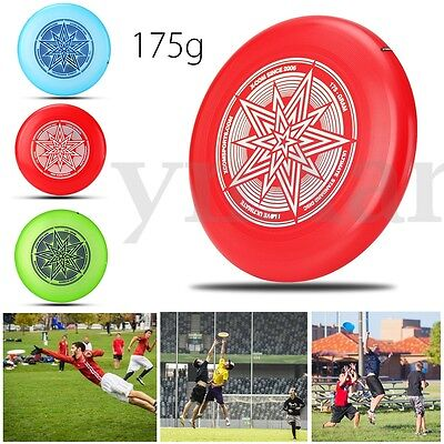 175G Professional Flying Disc Disk Ultimate Competition Garden Beach Toy Outdoor