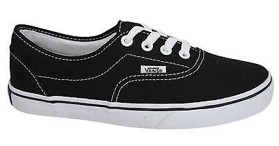 Vans Off The Wall LPE Black White Lace Up Unisex Canvas Trainers JK6Y28 D7