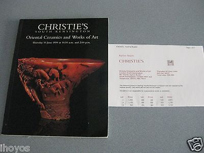 Christie's ORIENTAL CERAMICS WORKS ART 1999 Auction Catalog SNUFF BOTTLES /VASES