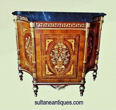 in 2 weeks Royal Louis XV style superbly inlaid commode