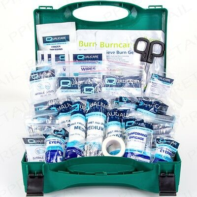 SMALL First Aid Kit BSI APPROVED Work/Office/Home Health & Safety Box/Refill