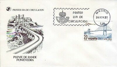 Spain - Special Events, People & Anniversaries (2no. PO FDC's) 1981