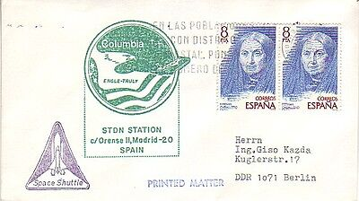 Spain - 2nd Mission Space Shuttle Colombia & Earth Stdn Madrid (SC) 1981